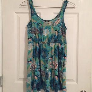 H&M hummingbird dress